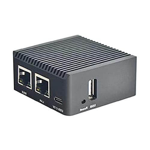 Scheda madre Sviluppo NanoPi R2S Mini Router RK3328 Scheda di Sviluppo Dual Gigabit Ethernet Port OpenWrt LEDE Mini Router WiFi Portatile bit Strumento Link