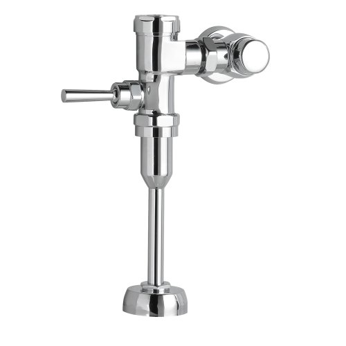 American Standard 6045.101.002 Exposed Manual 3/4-Inch Top Spud 1.0 Gpf Urinal Flush Valve, Polished Chrome