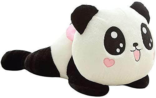 YWKXROM 20 cm Panda Oso de Peluche Peluche Peluche Juguete Suave Animal Panda Peluche niños bebé Regalo cojín cumpleaños Navidad Almohada tapicería