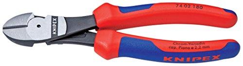 Knipex 74 02 180 SB Kraft-Seitenschneider Länge: 245 mm, Mehrfarbig