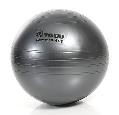 TOGU Powerball ABS - Pelota de Gimnasia (75 cm), Color Gris
