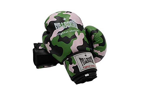 Softee Equipment PAR DE Guantes Boxeo FULLBOXING Camuflaje - 14OZ - Estampado Militar