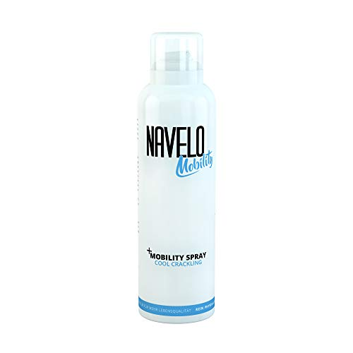 Navelo Mobility Spray - Cool Crackling   Kälte Spray   bei Verspannungen und Schmerzen   kühlender Crackling Effekt für Muskeln und Gelenke   150ml (1)