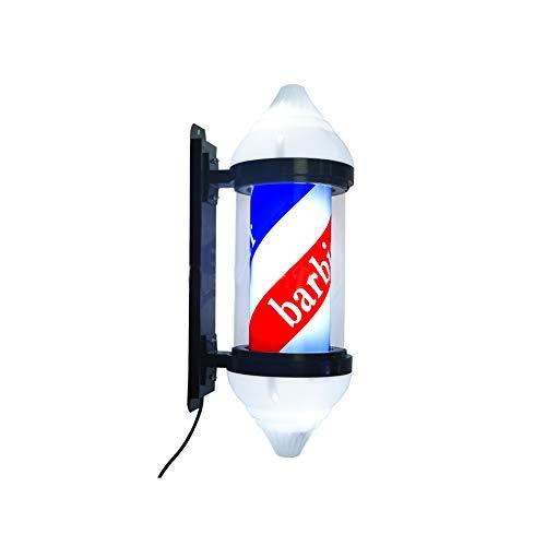 WangXN Barbers Pole LED 12V Eenvoudige montage Verlichte Rotating Salon Sign