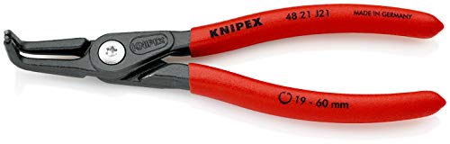 KNIPEX Alicate de precisión para arandelas para arandelas interiores en taladros (165...