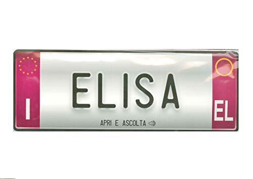 Biglietto Di Auguri Musicale Con Nome (Elisa)