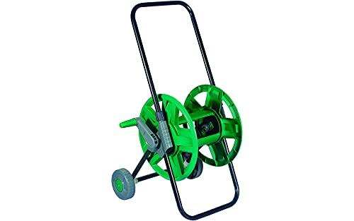 Piantallegra - Carrello avvolgitubo con ruote, capacità 60mt di tubo da 1/2 o 45mt di tubo da 5/8, altezza impugnatura regolabile