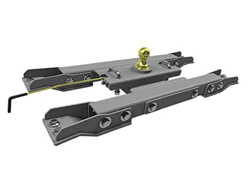 B&W Trailer Hitches GNRK1020 Turnoverball Gooseneck Hitch - 2020 GMC and Chevy 2500 and 3500 Trucks