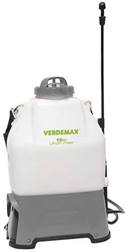 Verdemax - Mochila Pulverizar Electrica 16L. Bateria De