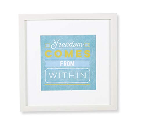 Quadro Gravura Freedom Etna Multicor 30X30cm