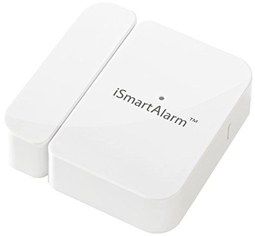 iSmart Alarm Sensore di Contatto per Porte e Finestre per Sistema di Sicurezza, Bianco
