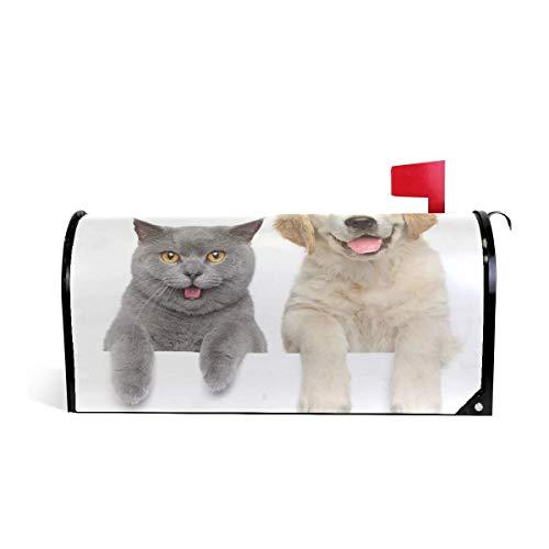 prz0vprz0v Magnetische postbus voor kat en hond 21 x 18 inch waterdicht canvas postbus deksel
