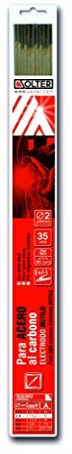 SOLTER - Electrodos de rutilo E6013 (2 x 300 mm, 35 unidades)