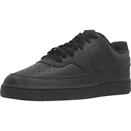 Nike Court Vision LO, Zapatillas de Baloncesto Hombre, Negro Black Black 002, 44.5 EU