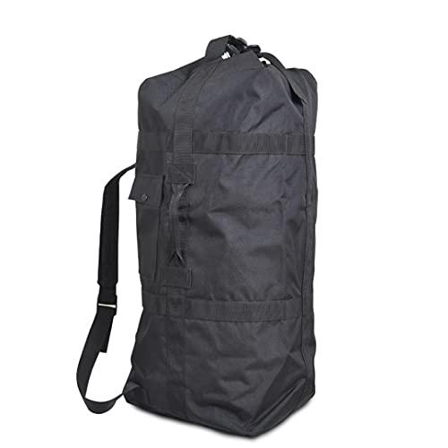 SHOULIEER 80l mochila militar al aire libre para los hombres táctica camping Caza bolsa grande viaje Duffle equipaje