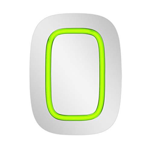 Ajax AJ-Button-W - Botón de Emergencia inalámbrico Blanco para Sistema de Alarma Ajax