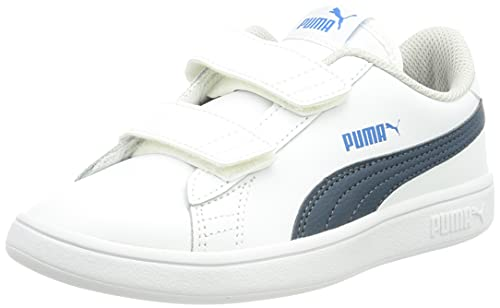 PUMA Smash V2 L V PS, Zapatillas, Blanco, 31 EU