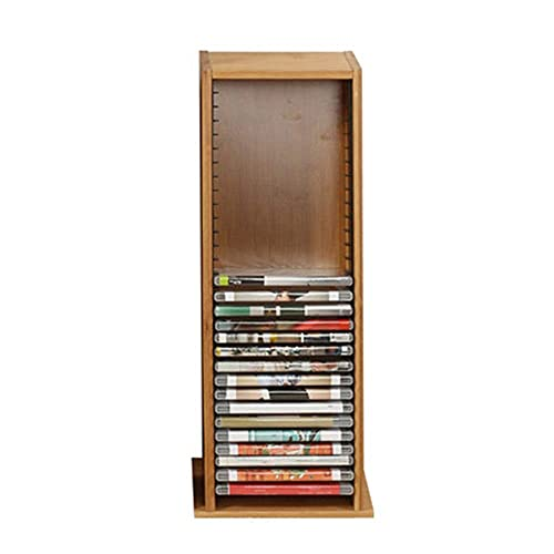 Home Equipment Album Storage Box CD Rack DVD Holder Stackable CD Holder...