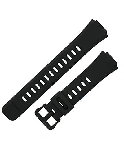 Casio 10579590 Genuine Factory Black Replacement Band - WS1100H-1AV, WS1100H-3AV