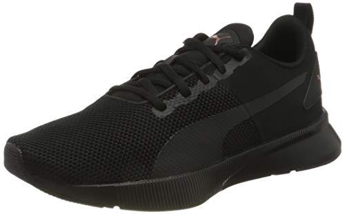 PUMA Flyer Runner, Zapatillas de Running Unisex Adulto, Negro Black/Rose Gold, 43 EU