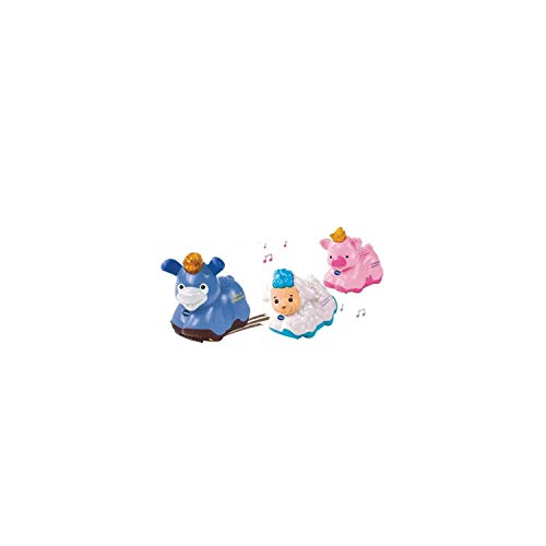 VTech - Tut Tut Animo -Coffret Trio Ferme, Véhicules Animaux Interactifs - Version FR