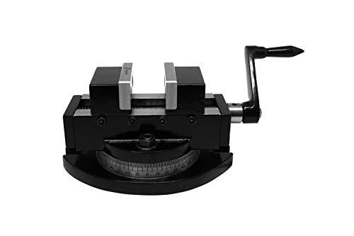 PAULIMOT Maschinen-Schraubstock 50 mm Backenbreite, selbstzentrierend