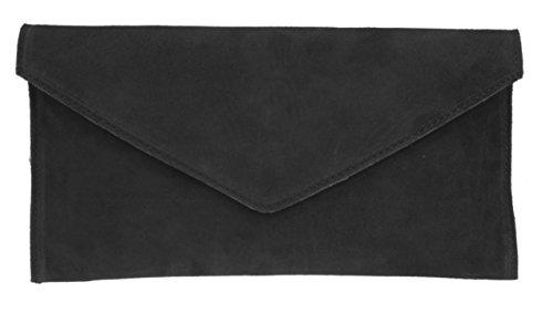 Girly HandbagsRebecca - Bolsa mujer, color Negro, talla