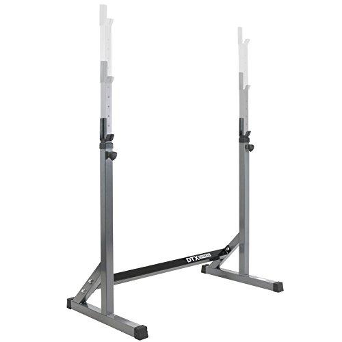 DTX Fitness, posabilanciere per squat, altezza aggiustabile