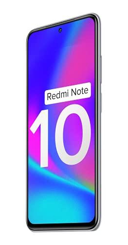 Redmi Note 10 (Frost White, 6GB RAM, 128GB Storage) - Super Amoled Display | 48MP Sony Sensor IMX582 | Snapdragon 678 Processor