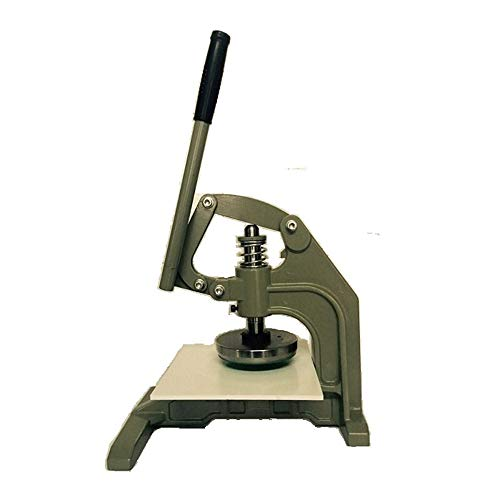 CGOLDENWALL Hand Press Sampling Mes 100cm2/0.1mm-10mm Textiel Stof Gram Meter Disc Papier Sampler Dubbelhandig Hand-held Gegraveerde Disc Code Doek Mes 50 square centimeter cutter head