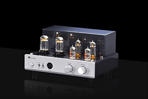 MUZISHARE X3T Tube Headphone Amplifier Balanced XLR 6.5mm Class A sinle-Ended EL84 Valve Integrated Amplifier