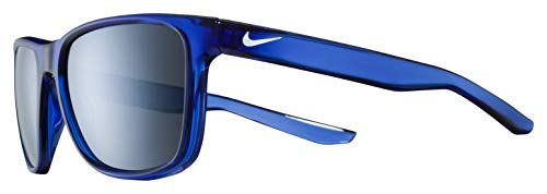 Nike Flip Rectangular Sunglasses, Game Royal (Blue), 53 mm