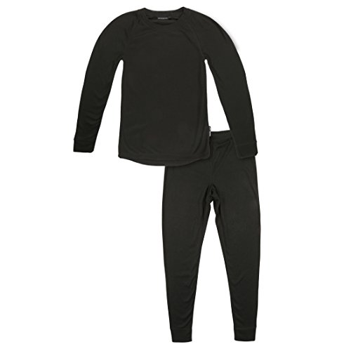 Ultrasport Thermal Underwear Set Conjunto, Niños, Negro, 176