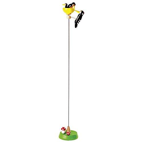goki 53931 - Klopfspecht mit Nachwuchs, Spielzeug