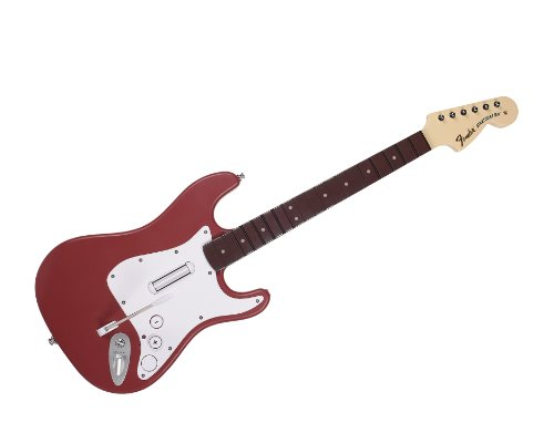 Rock Band 3 - Wireless Fender Stratocaster Guitar Controller for Wii - Cherry