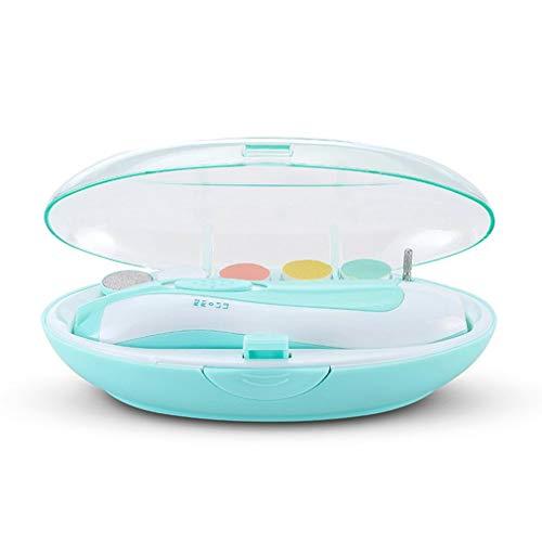Baby-elektrische nagels Baby-nagelschaartje Pasgeboren kinderen-nagelschaartje Baby-nagelschaartje Nageltoolset blauw