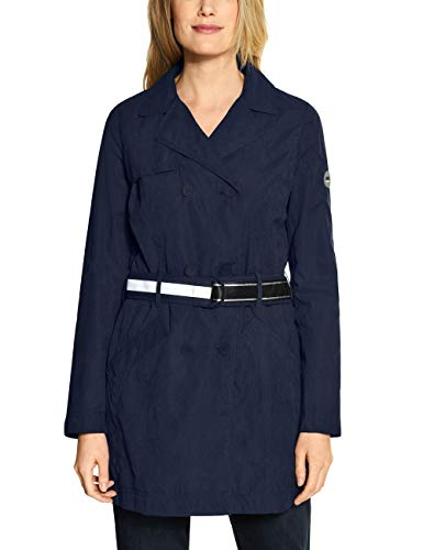 Cecil Damen 100606 Trenchcoat, deep Blue, Small