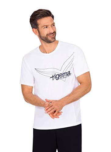 Trigema Herren 644239120 T-Shirt, Weiss, L