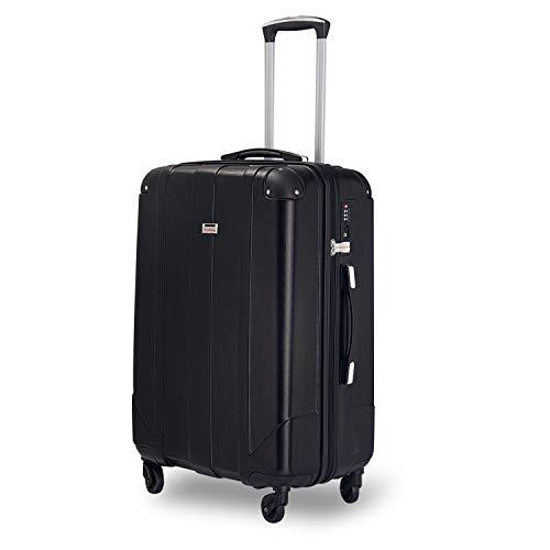 DFGGG Maleta rígida de viaje con candado TSA y asas, 3 colores a elegir, XL