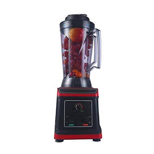 QOUP Licuadora, 1650W 2L de Alta Velocidad Cocina del Fabricante del Smoothie, 6 de Titanio de Acero Inoxidable Hojas de Leche Exprimidor licuadoras, con Barra agitadora Y Cookbook