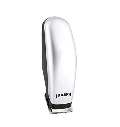 Vaycally Peluquería eléctrica, Mini barbero de batería Seca al por Mayor Push-Shears Men's Beard Trim, Km-666 Mini Hair Clipper