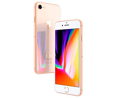 Apple iPhone 8 - Smartphone de 4.7' (4G, A11 Bionic 64-bits, RAM de 2 GB, memoria de 64 GB, cámara de 12 MP, iOS 11, Reacondicionado CPO) Color Dorado