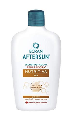 Ecran Aftersun - Leche Post-Solar Reparadora y Nutritiva, para Pieles Secas - 400 ml