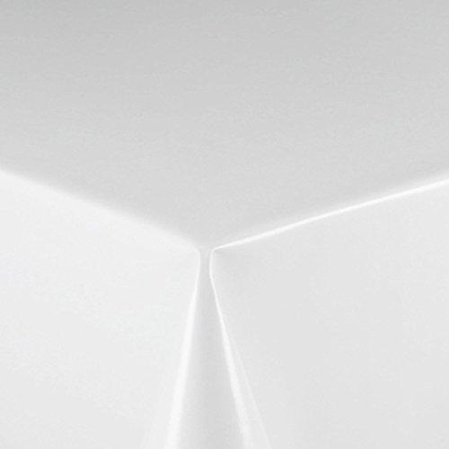 d-c-fix Partytischdecke Lackfolie Tischdecke 100 x 250 cm Weiß abwaschbar Lebensmittelecht