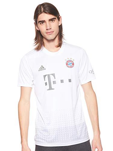 adidas Herren FCB A JSY T-Shirt, Blanco, XL