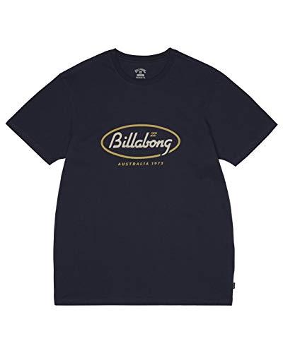 Billabong State Beach tee SS T-Shirt, Hombre, Navy, L