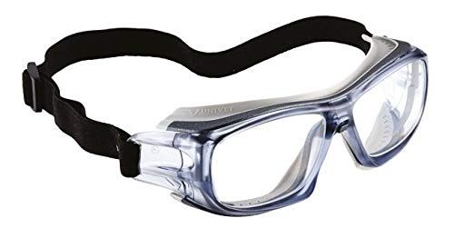 Armação Óculos Proteção Esportivo Para Lentes De Grau Univet 5x9e Ciclismo Corrida Futebol Paraquedismo Aventuras