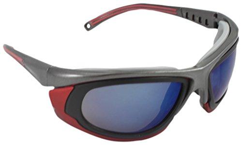 medop 911661Resolution occhiali Policarbonato polarizzato, montatura FT, colore rosso