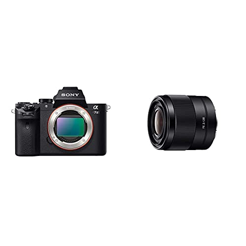 Sony Alpha 7M2 - Fotocamera Digitale Mirrorless Ad Obiettivi Intercambiabili, Sensore Cmos Exmor Full-Frame & Sel-28F20 Obiettivo Grandangolo A Focale Fissa 28 Mm F2.0, Mirrorless Full-Frame