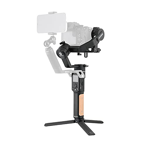 FeiyuTech Official AK2000C-Camera Stabilizer, 3 Axis Handheld Gimbal for DSLR Mirrorless Cameras, 4.85lbs Payload Touch Screen, for Sony Canon Panasonic Nikon Fujifilm,Wi-Fi/Cable Control